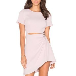 Stylestalker Thea dress in barely pink